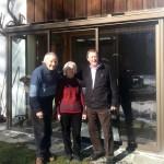Roger et Hélène Canac, Pierre Ostian le 20 février 2014
